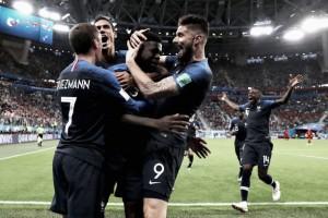 11 contra 11: França leva vantagem no comparativo entre titulares contra Croácia