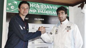 Definidos los partidos de la Copa Davis