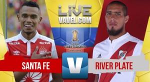 Independiente Santa Fe perdió ante River Plate y complicó su clasificación en Libertadores (0-1)