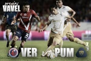 Previa Veracruz - Pumas: duelo de orgullo, descenso y Liguilla