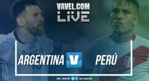 Resumen Argentina vs Perú por Eliminatorias Sudamericanas (0-0)