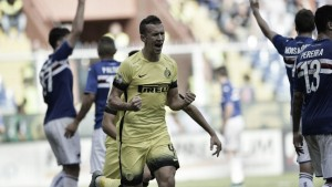 Inter Vs Sampdoria in Serie A 2015/2016 (3-1): L'Inter torna al successo