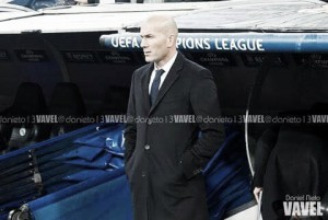 """Zidane: """"Hicimos un buen partido, pero no hemos conseguido la primera plaza"""""""
