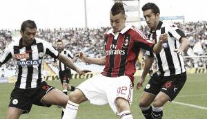 Milan - Udinese: necesidad de sumar de tres en tres