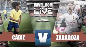 Resumen Cádiz CF 3-0 Real Zaragoza en Segunda División 2016