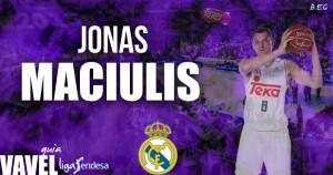 Jonas Maciulis Guía Real Madrid Baloncesto