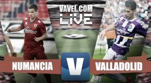 Resultado Numancia vs Valladolid en Segunda División 2016