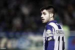"""Carles Gil: """"Debemos afrontar el partido contra el Barça como un once contra once"""""""