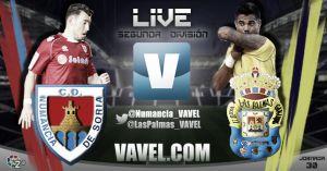 Resultado Numancia vs Las Palmas en vivo (4-2)