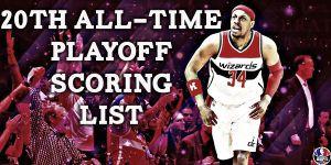 Paul Pierce ya es el 20º anotador en la historia de los playoffs