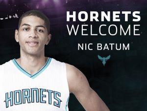 Nicolas Batum refuerza a los Charlotte Hornets
