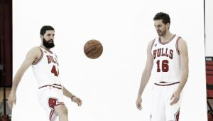 Gasol, Mirotic y compañía, optimistas en el Media Day de los Bulls
