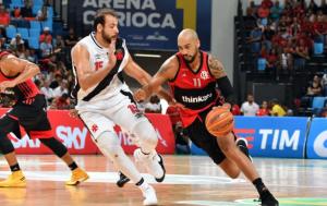 Flamengo vence Vasco e retoma caminho das vitórias no NBB