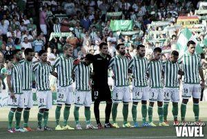 Real Betis - CD Numancia; puntuaciones del Real Betis, jornada 2