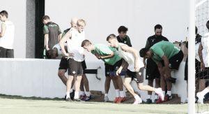 El Real Betis sigue con su puesta en marcha