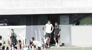 Piccini se ejercita por primera vez con el Betis