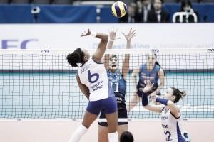 Rio de Janeiro bate Dínamo Moscou e se garante na semifinal do Mundial de Vôlei
