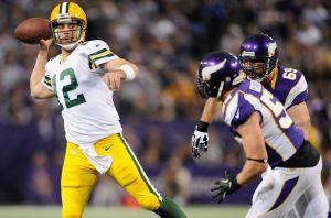 Un casi perfecto Rodgers acaba con los Vikings