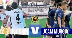 Resultado Real Unión - UCAM Murcia en los playoffs Segunda B 2015(0-0)