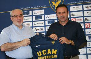 José María Salmerón, nuevo técnico del UCAM Murcia CF