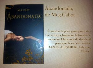 Abandonada, de Meg Cabot