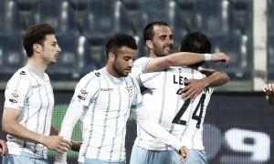 La Lazio torna a volare, vince con la Samp e si prende il secondo posto
