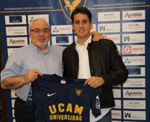 Juanto es nuevo jugador del UCAM Murcia CF