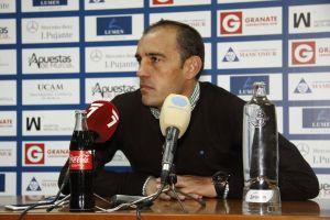"""Eloy Jiménez: """"Estoy muy contento con la actitud de mis jugadores"""""""