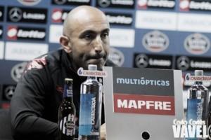 """Abelardo: """"Queremos cambiar lo que se vio ante la Real Sociedad"""""""