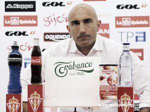 """Abelardo: """"El Sporting se ha manejado bien en todo tipo de partidos"""""""