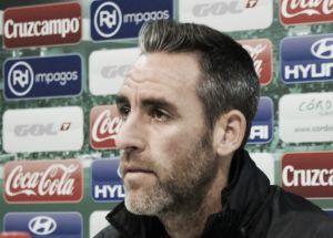 """Abel Gómez: """"Será un partido difícil. Vienen con más moral tras la última victoria"""""""