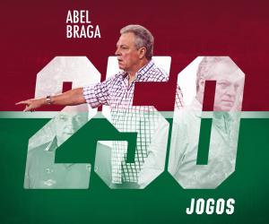 Abel Braga 250x: relembre grandes momentos do treinador no comando do Fluminense