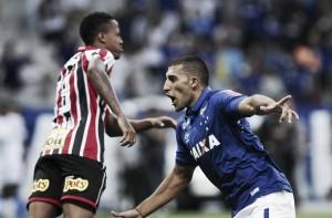Autor do gol da vitória, Ábila destaca confiança do Cruzeiro em triunfo sobre São Paulo