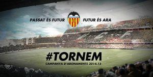El Valencia presenta su campaña de abonos