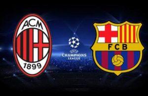 Live Barcelone - Milan, le match en direct