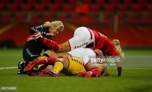 Euro 2017: Norway 0-1 Denmark - De Rød-Hvide progress to knock-outs