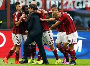 AC Milan 3-1 Lazio: Honda, Muntari and Menez give Inzaghi good start