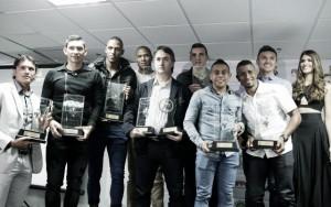 La Acolfutpro premió a los mejores del fútbol colombiano