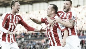 Stoke City 2-1 Swansea City: A tale of two penalties as Stoke get comeback victory