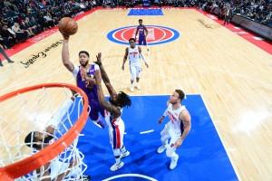 I 38 punti di Anthony Davis guidano i Pelicans alla vittoria sui Pistons; i Clippers si impongono con una grande prova corale