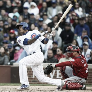 Addison Russell drives in three as Chicago Cubs improve to 23-6