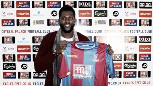 Adebayor happy to be staying in London after joining Crystal Palace