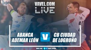 Resumen ABANCA Ademar León vs CB Ciudad de Logroño en Liga Loterías ASOBAL 17/18 (23-23)