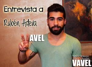 """Entrevista. Rubén Adeva: """"Mi fútbol no muere por salir del Real Valladolid"""""""