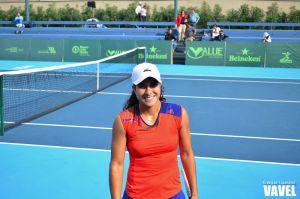 Actitud positiva, la clave para el título de Adriana Pérez