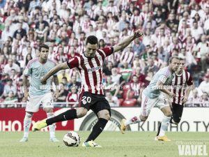 Aduriz transformó el primer penalti de la temporada