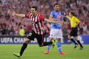 Tracollo Napoli, il Bilbao passa ai gironi di Champions