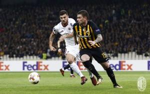 Europa League - Ad Atene vince la noia: 0-0 tra AEK e Milan