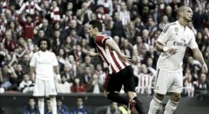 Il Real Madrid cade al San Mames: Aduriz regala la vittoria all'Athletic
