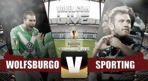 Wolfsburgo vs Sporting, en vivo y en directo online (2-0)